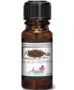 Aviano Botanicals Black Pepper Essential Oil