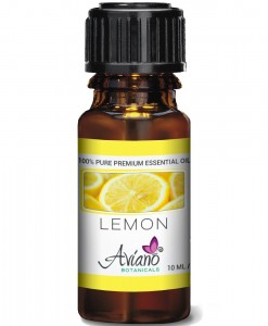 Aviano Botanicals Lemon Essential Oil