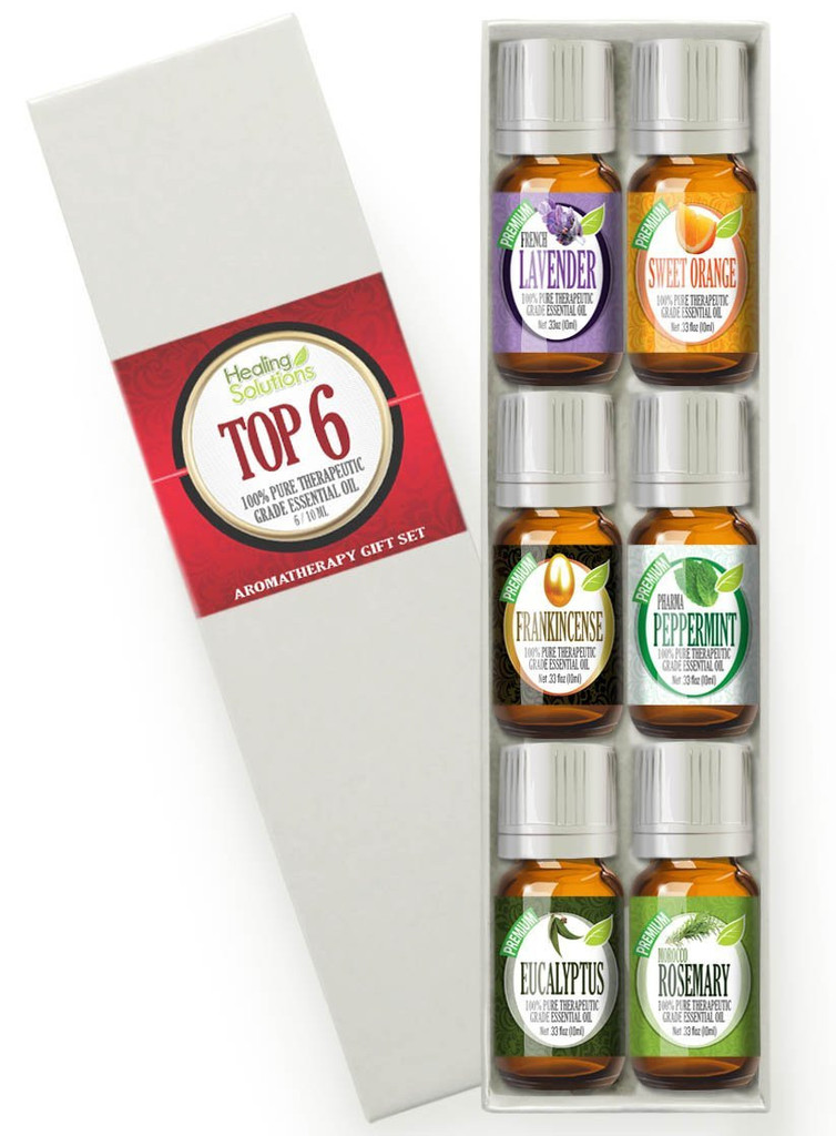 Healing Solutions Aromatherapy Top 6 Set
