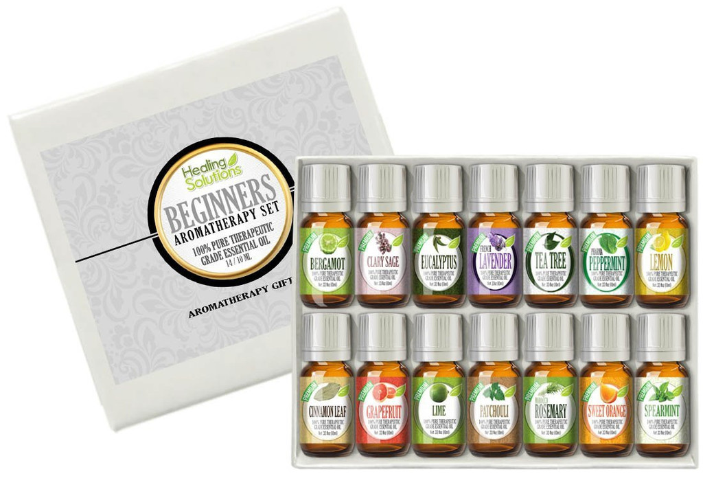 Healing Solutions Beginner's Aromatherapy 14 Set