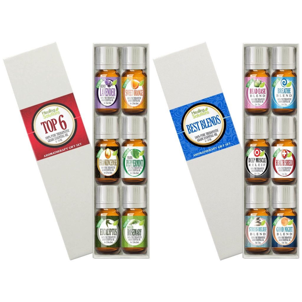 Healing Solutions Best Blends Aromatherapy Top 6 Combo