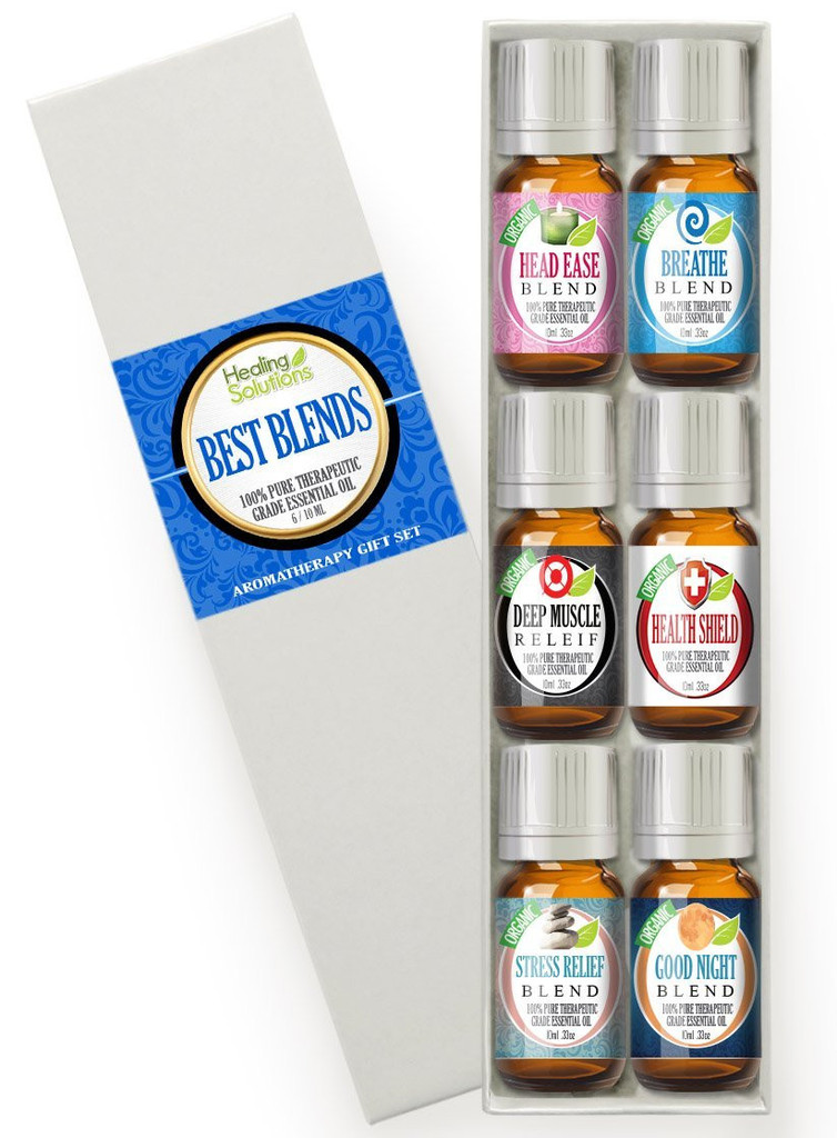 Healing Solutions Best Blends Set of 6