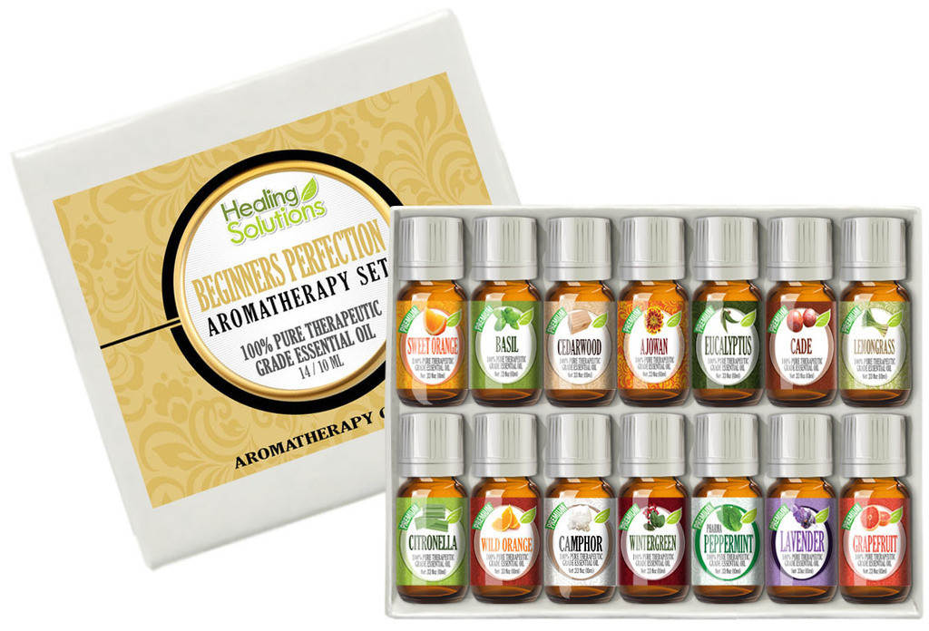 Healing Solutions Essential Oil Brand Sets, Kits & Collections