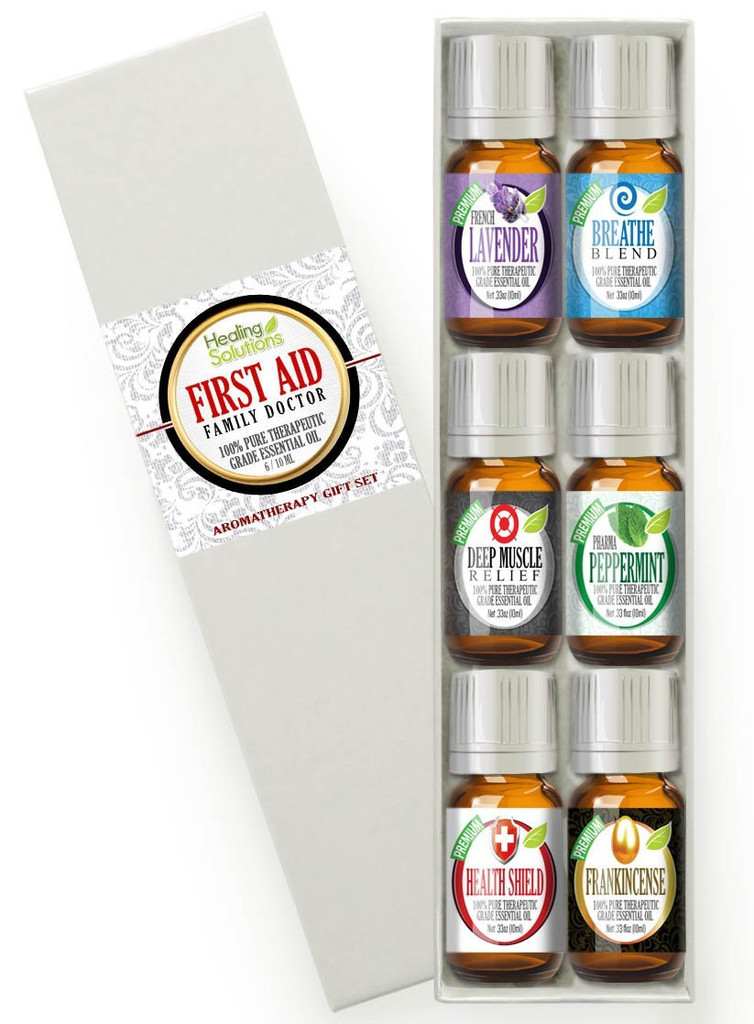 Healing Solutions First Aid Essential Oil Set