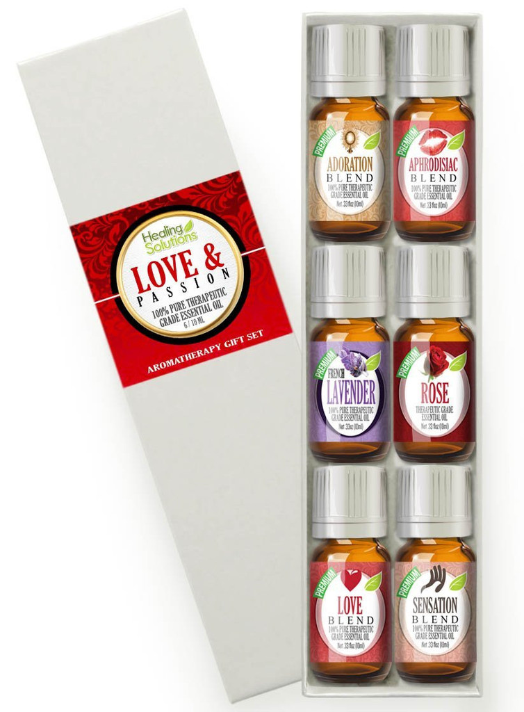 Healing Solutions Love & Passion Set
