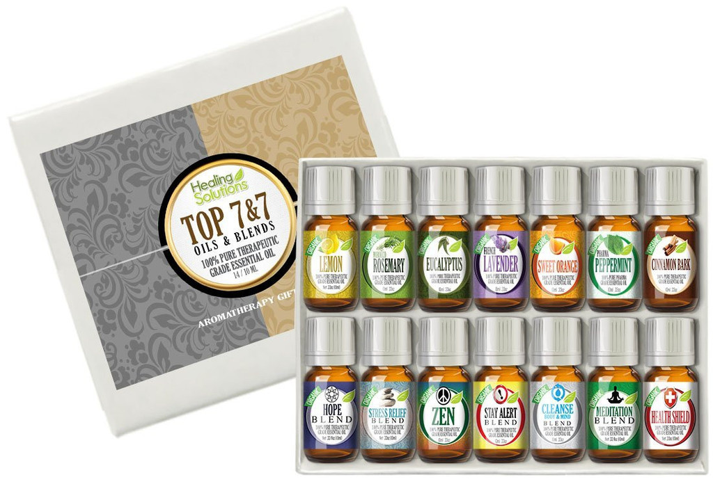 Healing Solutions Top 7 Blends and 7 Singles Set