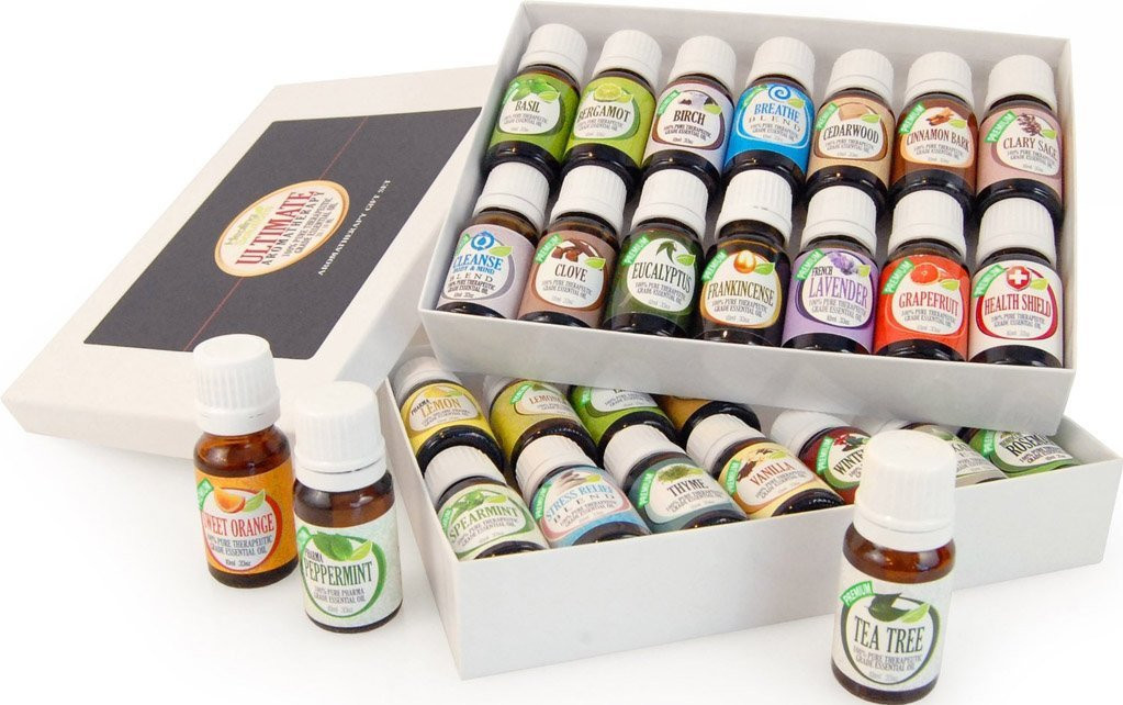 Healing Solutions Ultimate Aromatherapy 28 Set