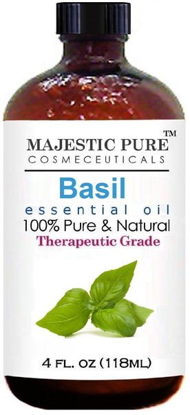 Majestic Pure Basil Oil