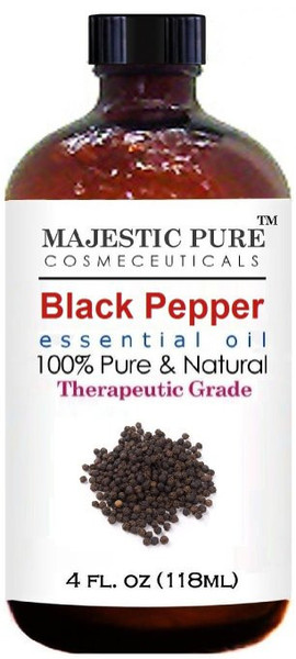 Majestic Pure Black Pepper Oil