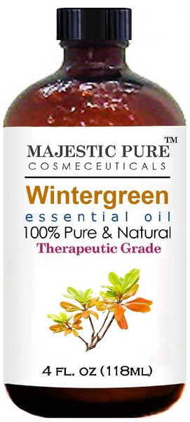 Majestic Pure Wintergreen Essential Oil