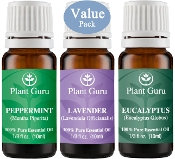 Plant Guru Beginner's Trio Essential Oil Set