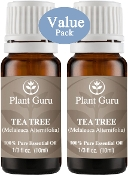 Plant Guru Value Pk 2 Tea Tree Melaleuca Pure Therapeutic Grade
