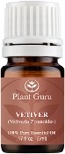 Plant Guru Vetiver Essential Oil