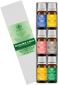 Plant Guru Weight loss set Essential Oil Variety Set