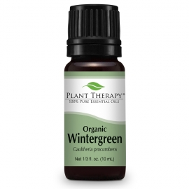 Plant Therapy Wintergreen ORGANIC Essential Oil