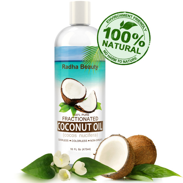 Radha Beauty Pure Radha Fractionated Coconut Oil